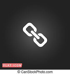 link flat icon