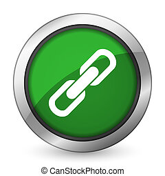 link green icon chain sign