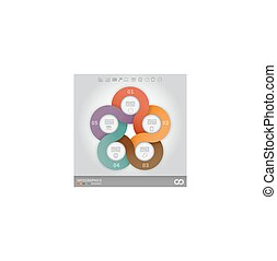 linked circles presentation template