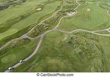 Links Golf Course Aerial