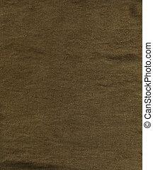 linnen, -, weefsel, textuur, bruine