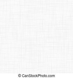 lino, bianco, seamless, struttura