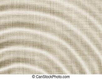 lino, ondulato, struttura