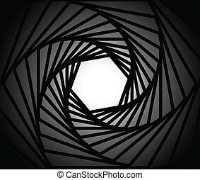 lins, kamera, bakgrund