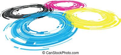 linse, abstrakt, fotoapperat