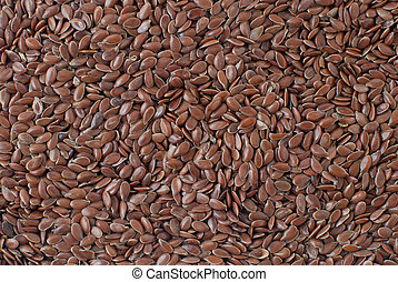 Linseed background detailed background.