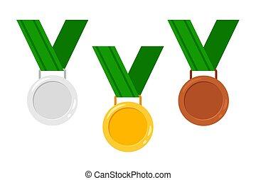linten, medailles