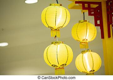 linterna china