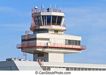 linz, azul, danubio, aeropuerto, (lnz), austria