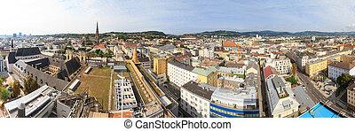 Linz Cityscape Panorama, Austria