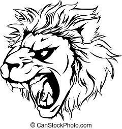 Lion animal mascot