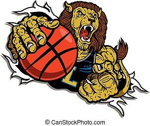 lion basketball player
