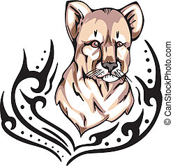 lion cub tattoo
