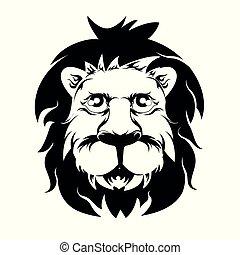 lion face 3