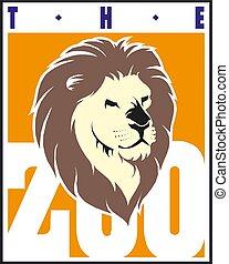 Lion Head, Design Element Vector Illustration
