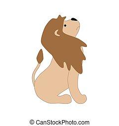 Lion illustration vector