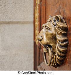 lion knocker