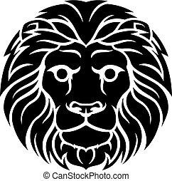 Lion Leo Zodiac Astrology Sign - A Leo lion horoscope...