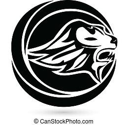 Lion logo concept