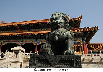 Lion of Forbidden City