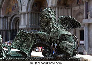 Lion of St Mark.