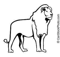 Lion Outline