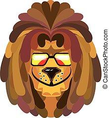 lion, rasta