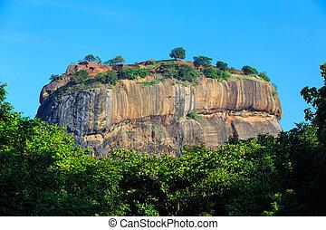 Lion rock at Sigiriya, Sri Lanka