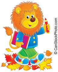 Lion student