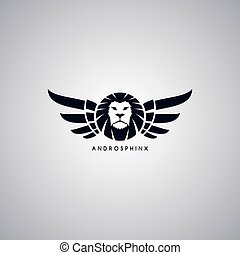 lion theme androsphinx sign