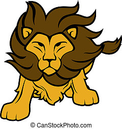 lion vector clipart