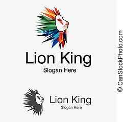 Lion Vector Design Logo