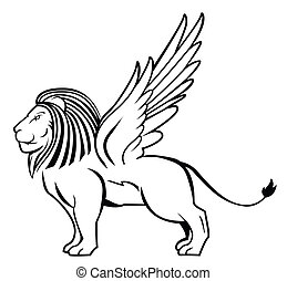 lion wing