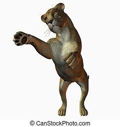 Lioness - 3D Animal