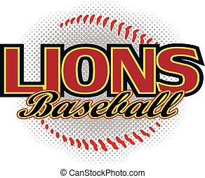 Lions Baseball Design