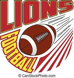 Lions Football Team Design