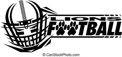 lions, football