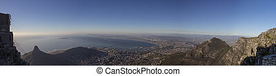 Lion's Head and Cape Town Panorama 1 - A Panorama of Lion's...