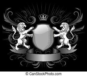 Lions Insignia in dark style