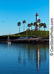 Lion's Lighthouse Long Beach