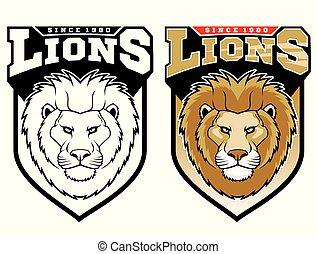 lions., mascotte
