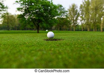 lip, bal, golf, cup.