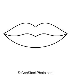 Lips icon Clip Art and Stock Illustrations. 12,087 Lips ...