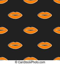 beauty seamless pattern