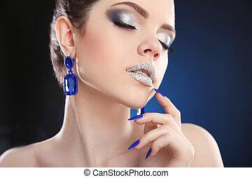 Glitter glamour girl — photo 7