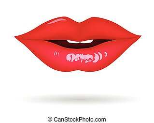 Lips vector for your design