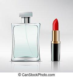lipstick., びん, 香水