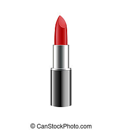Lipstick isolated on white background. Vector.