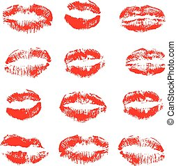 Lipstick Kisses