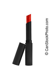 lipstick over white background